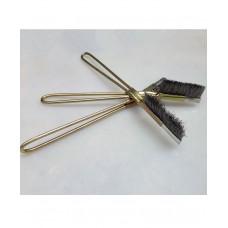 Showa Mini Hand Brush Brass Coated