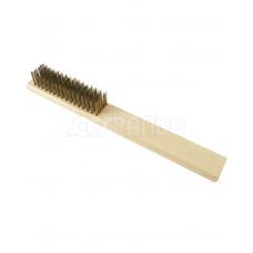 Showa Brass Brush w/Wooden Handle
