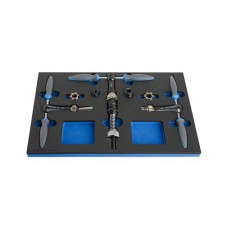 Unior Bike Tool Set In SOS Tray 1600SOS9