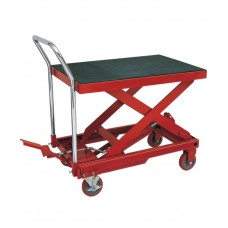 Hu-Lift Hydraulic Table Cart