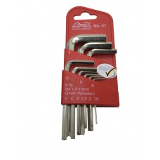 Athlet Hexagon Key Wrench Set ( Short Series )