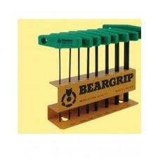 BearGrip Hexagon Key w/T-Handle Set ( Inch )