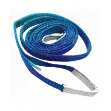 Renjin Power Polyester Webbing Sling 8 Ton x 200mm x 2 ply Blue Color