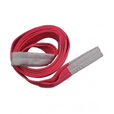 Renjin Power Polyester Webbing Sling 5 Ton x 125mm x 2 ply Red Color