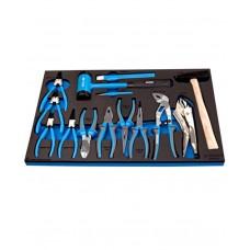 Unior Set of BL Pliers & Hammer in SOS Tray 964/32SOS