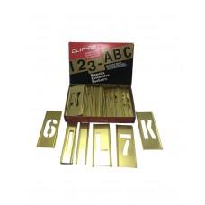Clip-On Brass Stencil