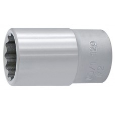 """Unior Socket Wrench 1/2"""" Square Drive x 12 Points  ( Inch )"""