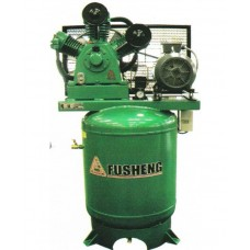Fusheng A-Series Air Compressor with Vertical Tank Single Phase with ( FGT brand ) Inductive motor