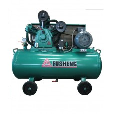 Fusheng Two-Stage Air-Cooled Lubricated With Horizontal Tank Three Phase with ( Teco ) Inductive motor