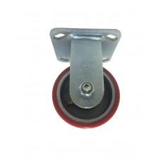 Globe Polyurethane + Cast Iron Caster Fixed Type