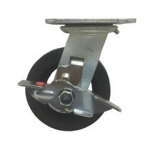 Globe Cast Iron Caster Swivel w/ Brake Type