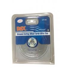 Dax Diamond Cut-Off Wheel Turbo for Concrete, Brick & Granite