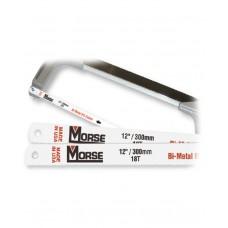 Morse Bi-Metal Hacksaw Blade ( Flexible ) H.S.S. 8% Cobalt