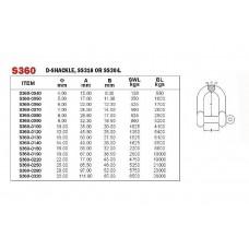 Vinox S/S 304 D-Shackle