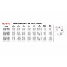 Vinox S/S 304 Pearl Shape Quick Link