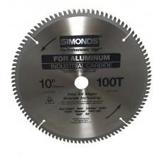 "Simonds Carbide Tipped Circular Saw for Aluminum (1"" Bore)"