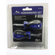 Blue Mountain Stubby Screwdriver Set