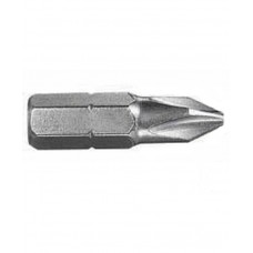 "Brown Screwdriver Bit 1/4"" Shank Single End #1x25.4mmL"