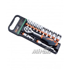 "King Tools or Mitools Socket Wrench 1/2"" Square Drive  6 point"