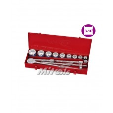 "King Tools or Mitools Socket Wrench 3/4"" Square Drive"