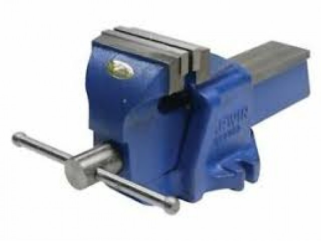 Irwin-Record Mechanic Bench Vise (Fixed Base)
